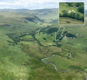 Aerial View of RSPB Haweswater Base Camp